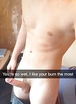 Snapchat boy with hard cock