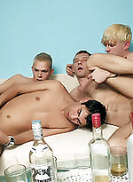 Alex and his friends taking their clothes off for