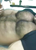 Hairy gay Tom Katt and his buddies give each other