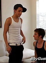 2 hot guys fool around with each other