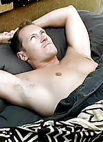 Handsome masculine gay simon august whips out his