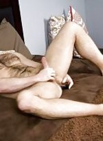 Gage wilson discovers a dildo in a drawer and deci