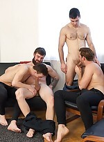 Wank party #93, part 1 - raw