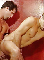 Handsome gay cub chaz carlton naked and gives off